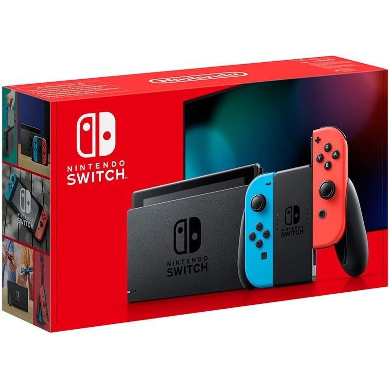 Nintendo Switch Neon 2019