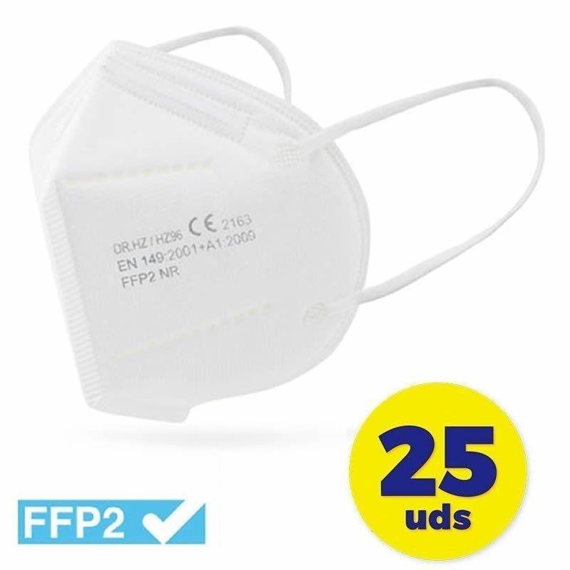 Mascarillas FFP2 Club Náutico Blanco 25 Unidades