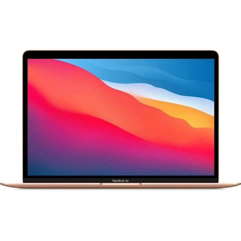 "MacBook Air Chip M1 8GB 256GB SSD GPU Hepta Core 13.3"" Dorado"
