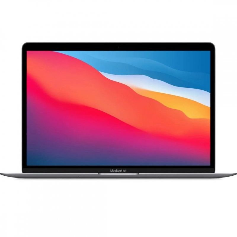 "MacBook Air Chip M1 8GB 256GB SSD GPU Hepta Core 13.3"" Gris Espacial"