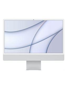 """Apple iMac M1 8GB 256GB SSD GPU 7 Núcleos 24"""" 4.5K Retina Plata"""