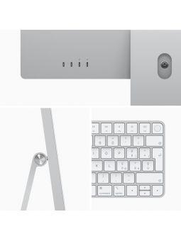 """Apple iMac M1 8GB 256GB SSD GPU 8 Núcleos 24"""" 4.5K Retina Plata"""