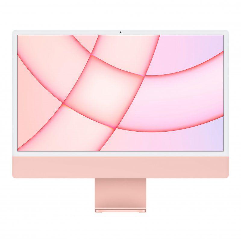 """Apple iMac M1 8GB 256GB SSD GPU 8 Núcleos 24"""" 4.5K Retina Rosa"""