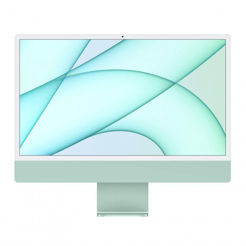 "Apple iMac M1 8GB 256GB SSD GPU 8 Núcleos 24"" 4.5K Retina Verde"
